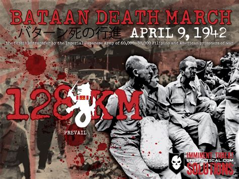 The History Of The Bataan March And Remembering Our Pows Its Tactical
