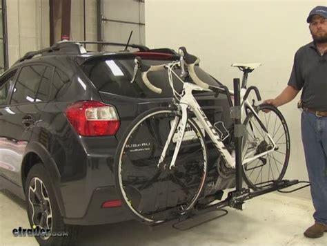 bike rack subaru crosstrek single bike trailer hitch rack bicycling and the best