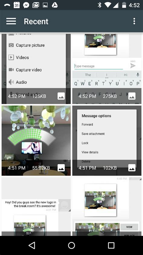 how to save a from on android how to save pictures from text messages republic