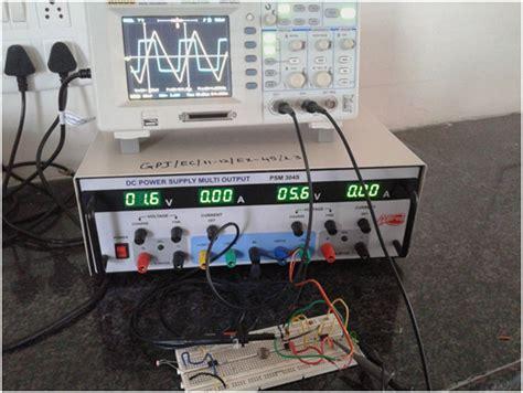 waveform generator using ic lm741 circuit diagram