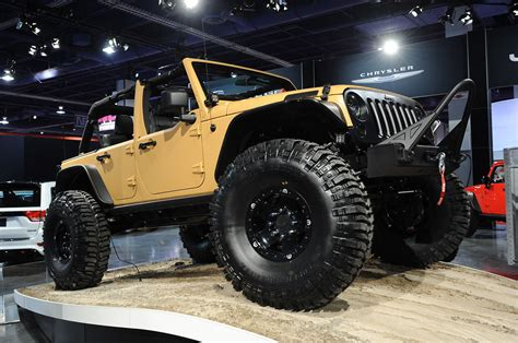 Jeep Jk Performance All Tuning Cars Nz 2012 Jeep Wrangler Sand Trooper By Mopar