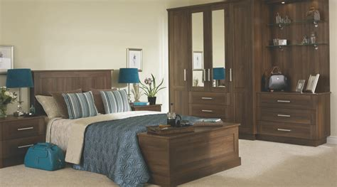 walnut effect bedroom furniture walnut effect modular bedroom furniture system