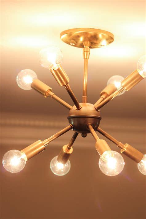 light bulbs for sputnik chandelier sputnik chandelier mid century style lighting source