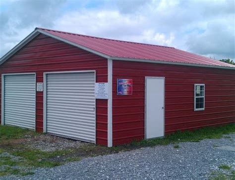 Pine Creek Storage Sheds by Pine Creek 24x26 Steel Garage Shed Sheds Barn Barns In