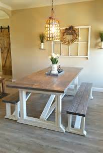 farmhouse kitchen furniture best 25 white farmhouse table ideas on farm