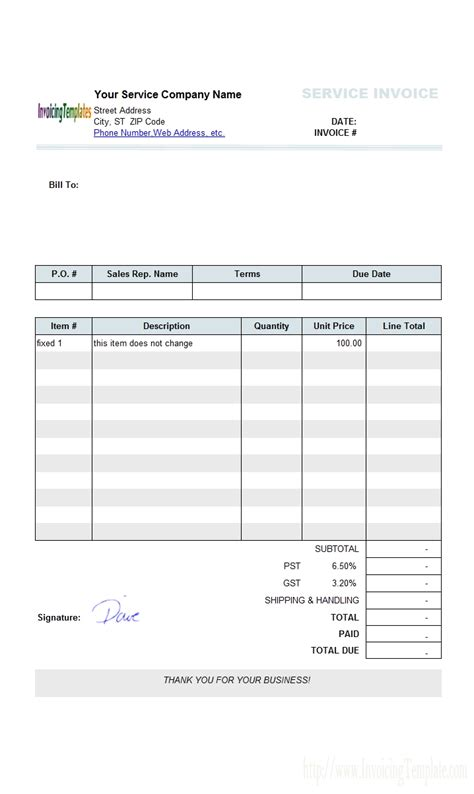 official invoice template microsoft office receipt template calendar templates