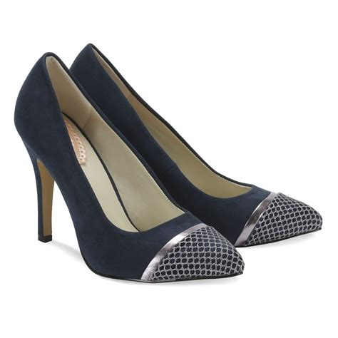 Wedding Shoes Navy by Navy Shoes