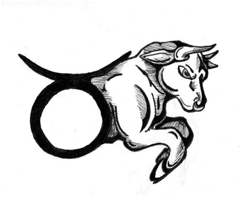 zodiac signs taurus tattoo designs zodiac taurus bull design tattooshunt