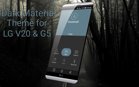 themes lg v20 dark material theme for lg v20 android apps on google play