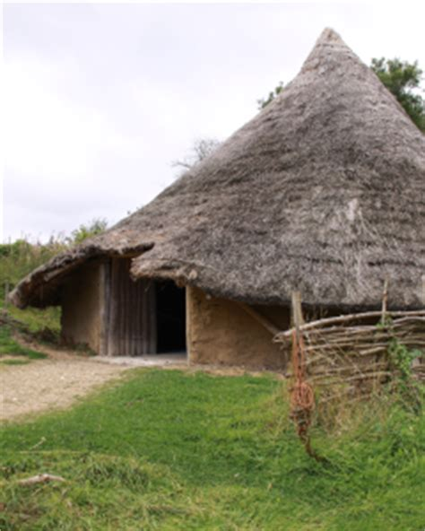 Iron Age House   Chiltern Open Air Museum