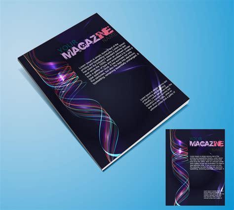 free magazine cover template magazine cover templates free vector in adobe illustrator