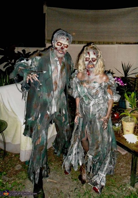 zombie costume how to make a zombie costume with makeup homemade zombie couple costume