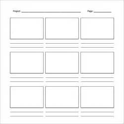 Storyboard Template sle free storyboard 33 documents in pdf word ppt