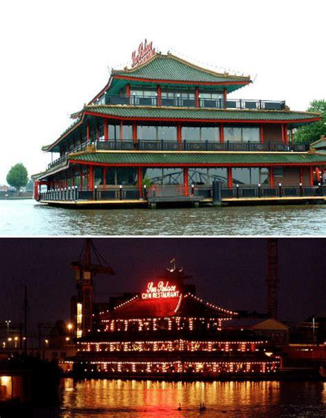 floating boat hotel amsterdam sea food 14 floating restaurants around the world urbanist