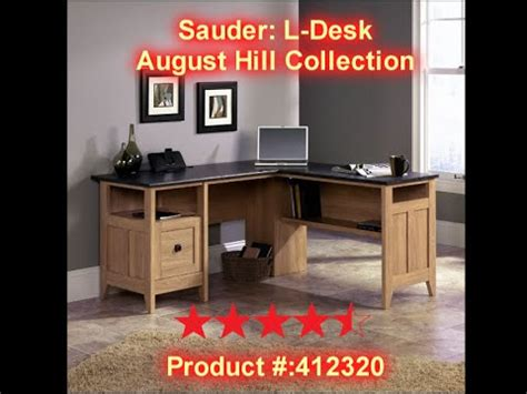 sauder august hill l shaped desk sauder august hill l shaped desk review links in