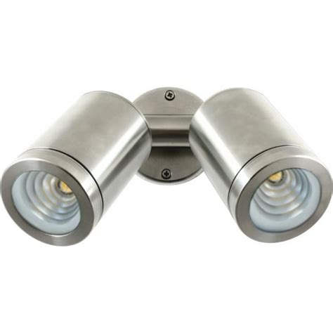 Outdoor Led Spot Light Fixtures Hunza Outdoor Lighting Led Wall Spot Stainless