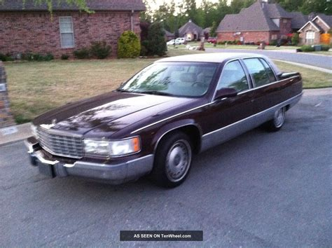 car repair manuals download 1996 cadillac fleetwood seat position control 1996 cadillac fleetwood brougham