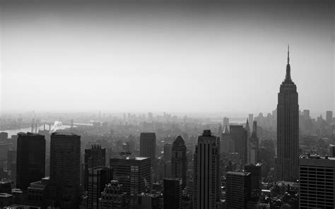grayscale wallpaper grayscale panorama cities wallpaper 2560x1600 13185