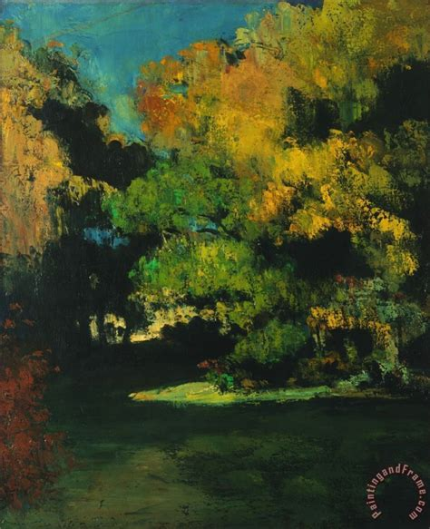 The Clearing paul cezanne the clearing painting the clearing print