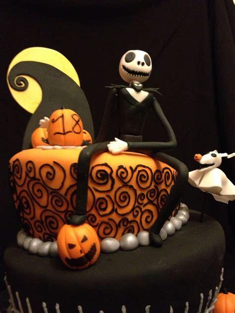 nightmare before themed nightmare before themed birthday cake this cake nightmare