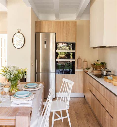 decorar cocina en l cocinas peque 241 as distribuidas en quot l quot