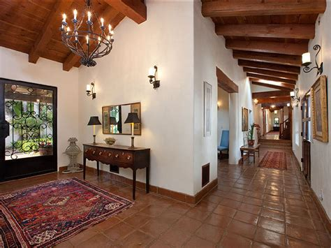 Spanish Style Homes Interior Beautiful Spanish Hacienda In Santa Barbara Idesignarch