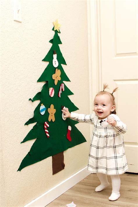 diy felt christmas tree elements of ellis
