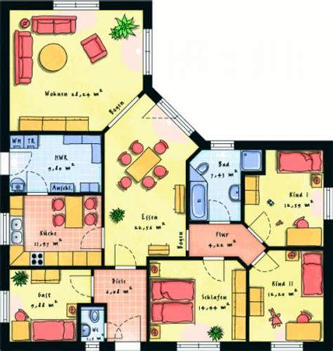 grundriss 4 schlafzimmer einfamilienhaus individuell geplant grosser