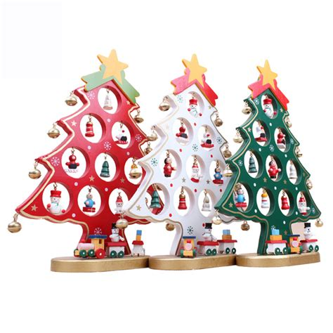new christmas decorations special offer single wooden