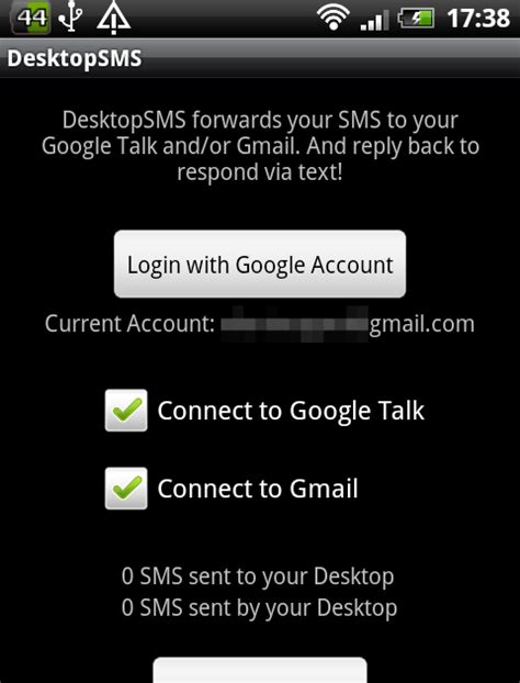 Or Via Text Ubuntu Tips And Tricks Android App To Send And Receive Text Messages Via Gmail Or Gtalk Desktopsms