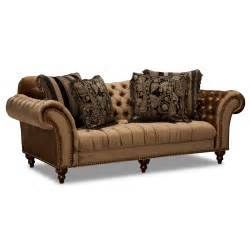 American Furniture Warehouse Sofas Brittney Sofa Bronze Value City Furniture