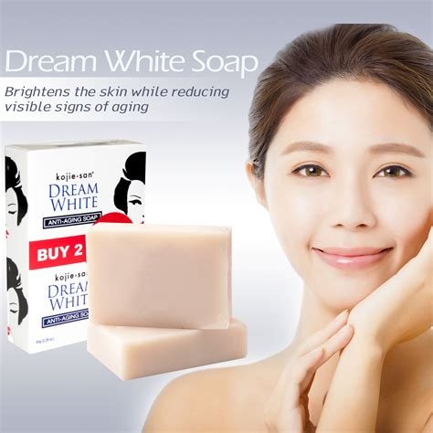 Koji San Skin Lightening Soap 16 30gr kojie san white soap anti aging 2 bars 65g