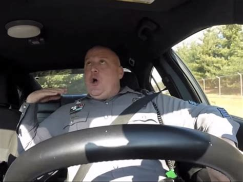 shake it shake it hilarious on dashcam a cop s hilarious lip sync to quot shake it