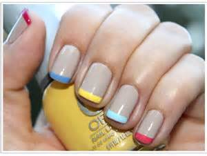 colored french manicures are back