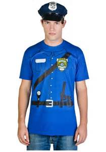 halloween costume t shirts pics photos police officer oliver clothesoff halloween