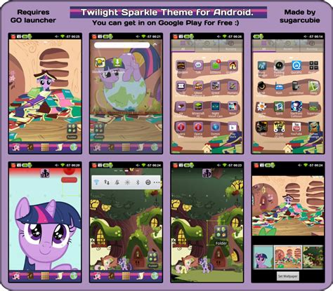themes android deviantart twilight sparkle theme for android by sugarcubie on deviantart