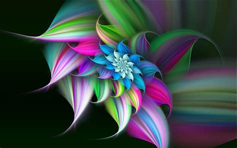wallpaper abstract colorful flower 3d art flower hd wallpaper hd latest wallpapers