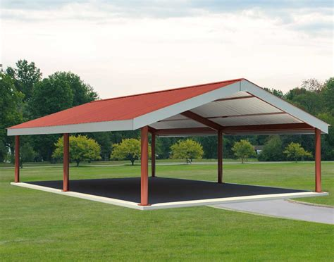Metall Pavillon steel i beam single roof rectangle pavilions