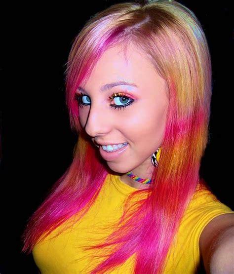 Nn Chika humor dump with colored hair