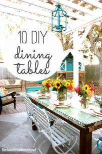 Diy Dining Room Table Ideas by 10 Diy Dining Table Ideas Build Your Own Table