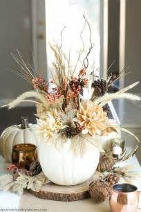 Gold Vase Fillers 13 Easy Thanksgiving Centerpieces For Your Holiday Table