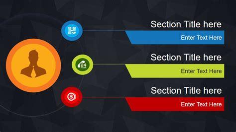 Dark Agenda Slide Design for PowerPoint   SlideModel
