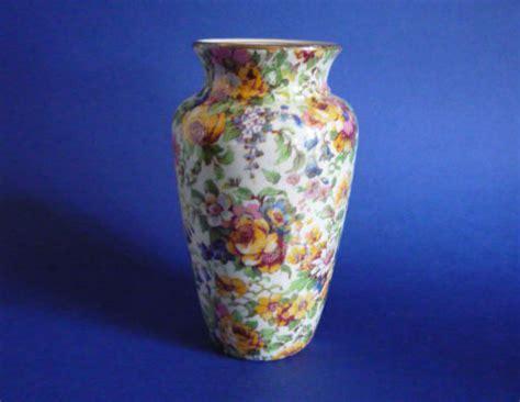 Royal Winton Grimwades Vase by Lovely Vintage Grimwades Royal Winton Bedale Chintz Vase C1936