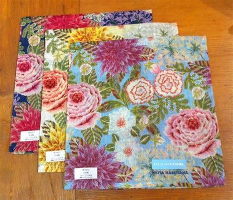 japanese pattern handkerchief keita maruyama tokyo paris handkerchief beautiful