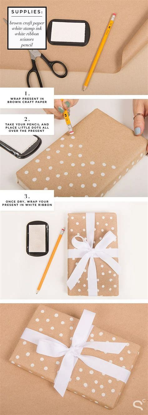 Handmade Wrapping Paper Ideas - 20 cool diy gift wrapping ideas that will boost your