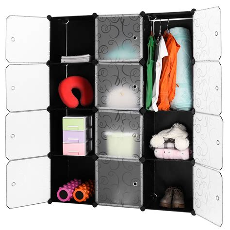 diy 12 cube storage cupboard cabinet wardrobe shoe rack