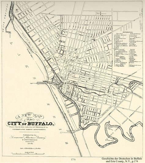 buffalo map buffaloresearch historic maps of buffalo erie