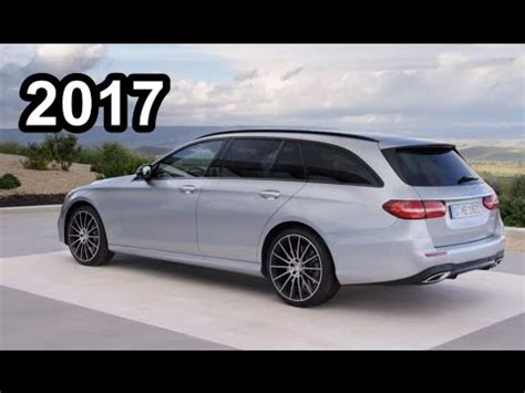 2017 Mercedes E Class Estate Interior Exterior Test