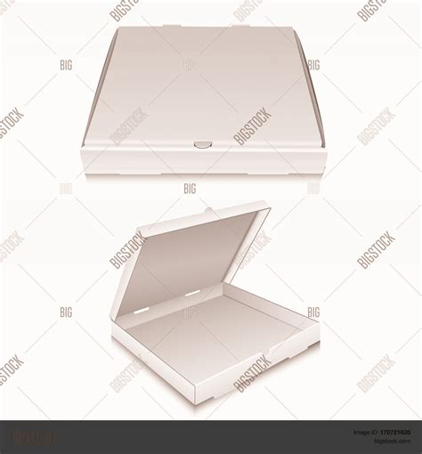 pizza box design template blank pizza box design mock up set isolated