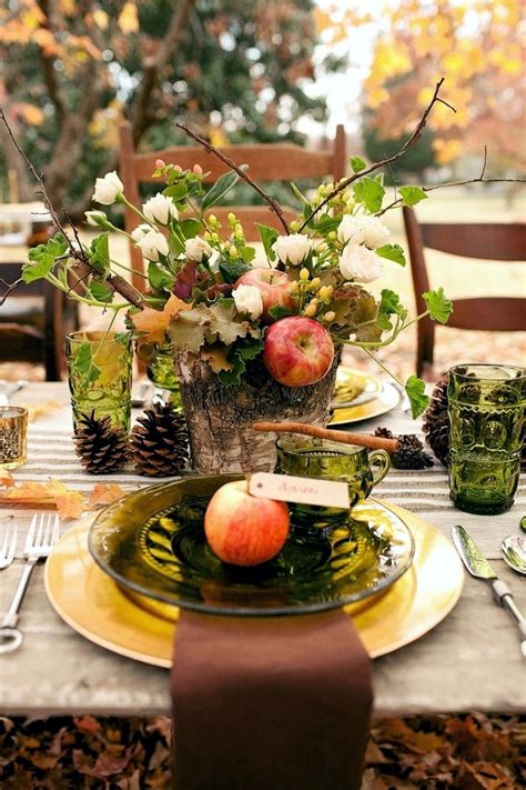 Festive Table Decorations Panels In The Fall Festive Decorating Ideas For Table Decorations 35 Interior Design Ideas